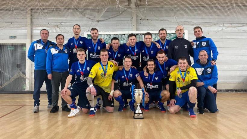 Игроки клуба «Динамо-Электросталь» стали чемпионами России по индорхоккею