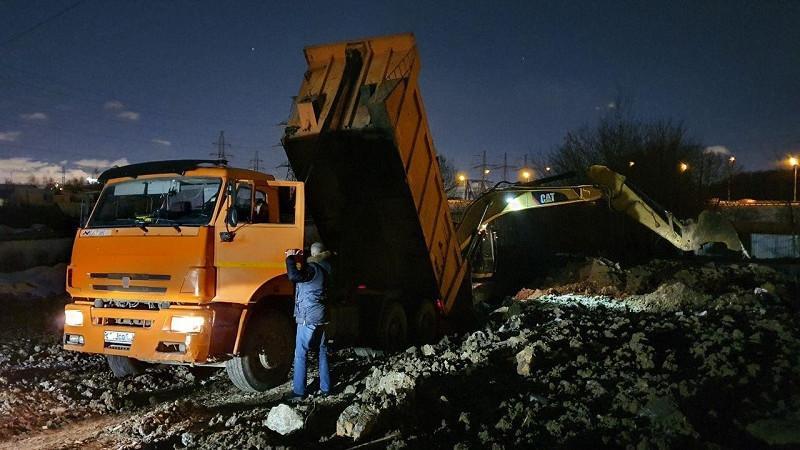 Инспекторы Минэкологии пресекли организацию незаконной свалки в Мытищах