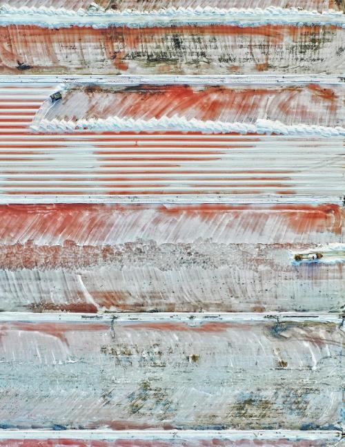 Лучший одиночный снимок. Яркий пестрый солончак. (Фото Magali Chesnel, France, The International Landscape Photograph of the Year 2019):