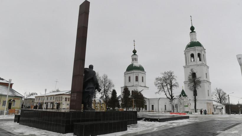 Михаил Хайкин посетил Зарайск с рабочим визитом