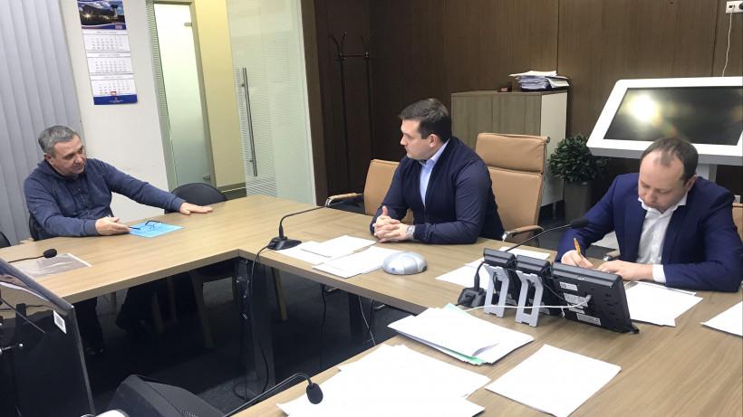 Министр стройкомплекса Подмосковья провел личный прием граждан