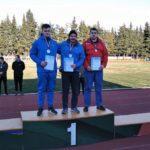На всероссийских соревнованиях по метаниям подмосковные спортсмены завоевали еще 13 медалей