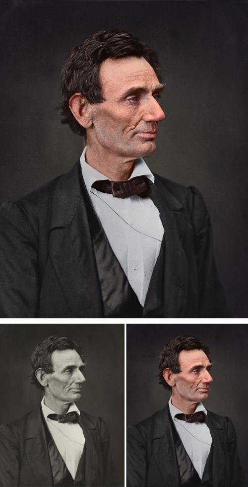 Авраам Линкольн.