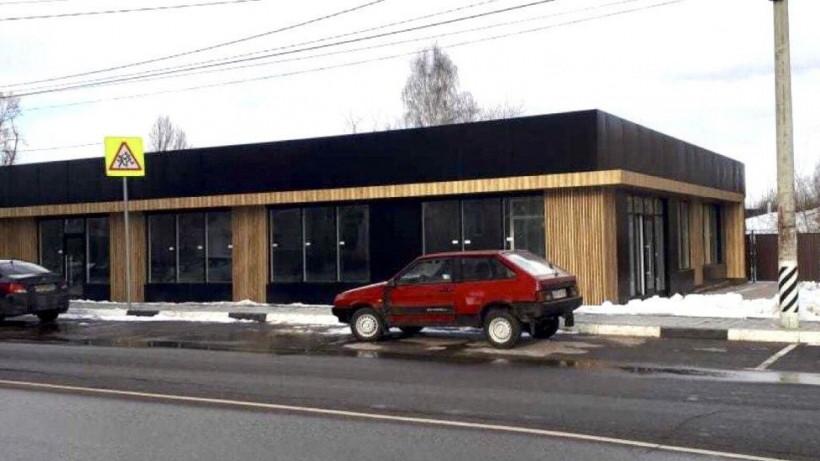 Незаконно-построенный торговый объект снесли в Солнечногорске