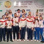 Новые награды российских стрелков на Чемпионате Европы