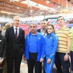 Олег Матыцин открыл Чемпионат России по лёгкой атлетике в помещении