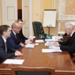 Олег Матыцин провёл рабочую встречу с главой Удмуртии Александром Бречаловым