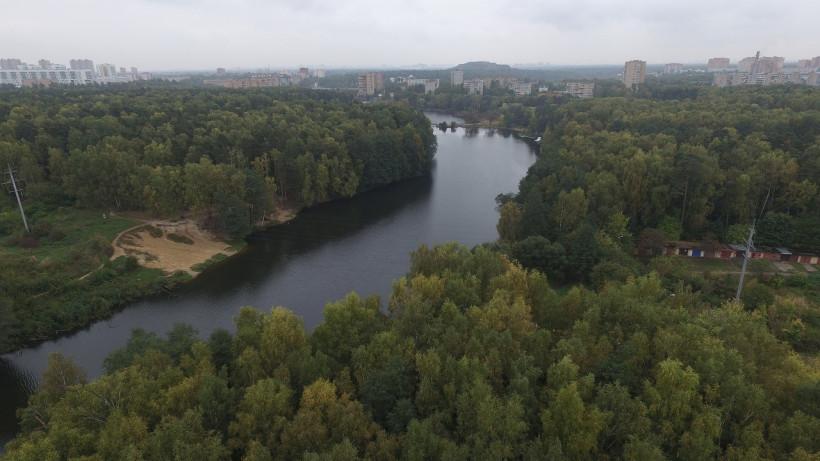 Река Пехорка в Балашихе