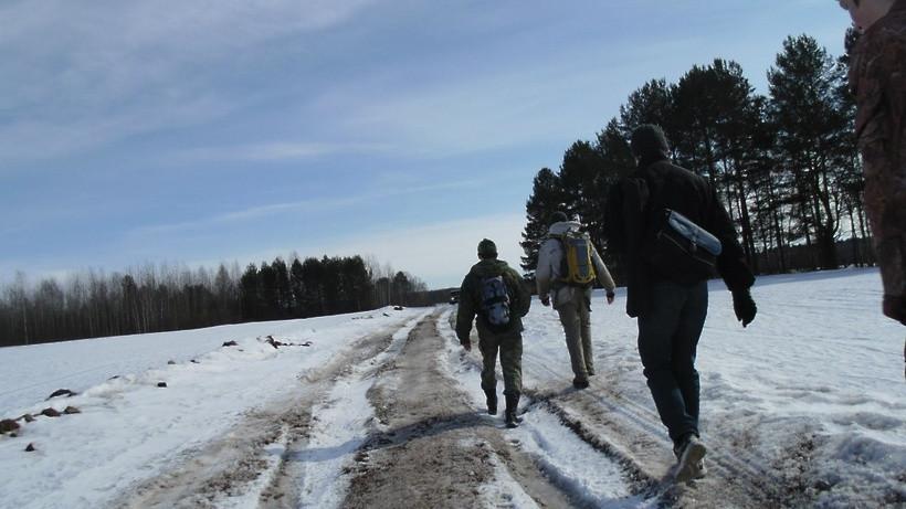 Зимний маршрутный учет охотничьих животных в охотничьих угодьях