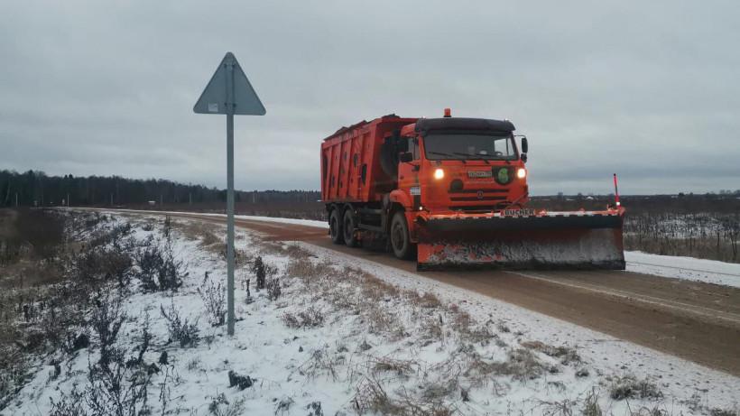 Почти 23,5 тыс. км дорог очистили от снега в Подмосковье за сутки