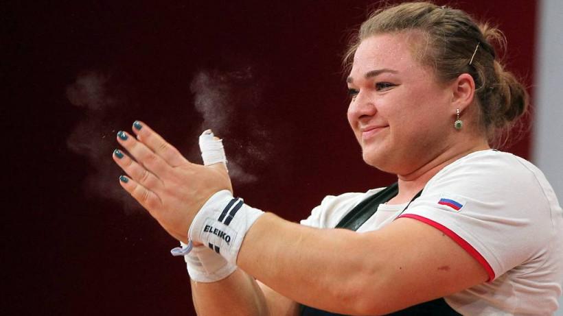 Подмосковная спортсменка завоевала золото на чемпионате России по тяжелой атлетике