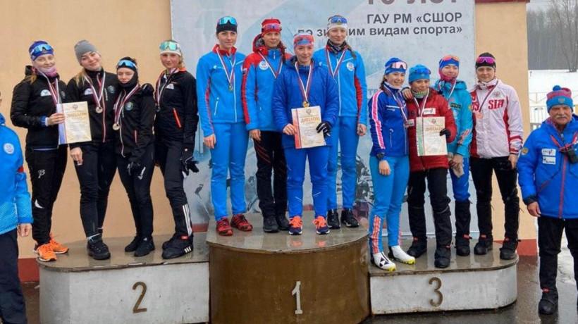 Подмосковные биатлонистки завоевали 4 бронзы на первенстве России