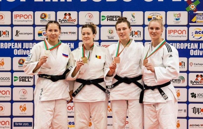Подмосковные дзюдоисты завоевали медали на двух международных турнирах