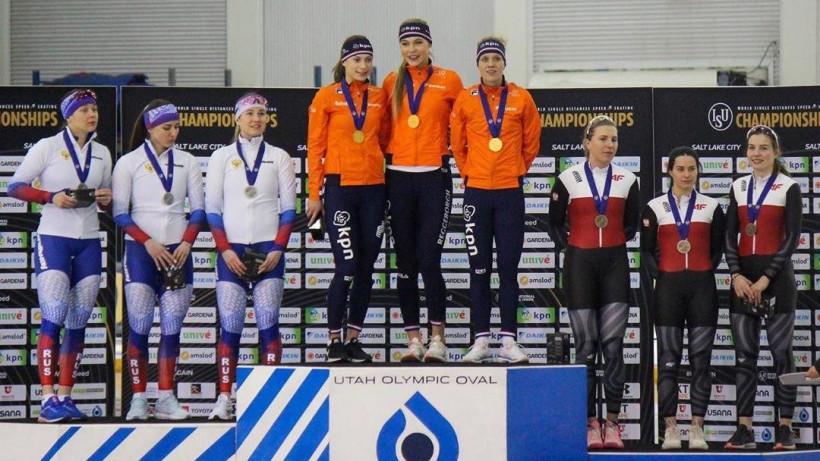 Подмосковные конькобежцы стали призерами мировых и российских соревнований