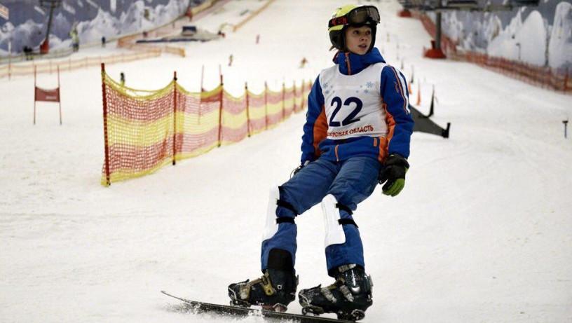 Подмосковные сноубордисты завоевали два серебра на Спартакиаде учащихся