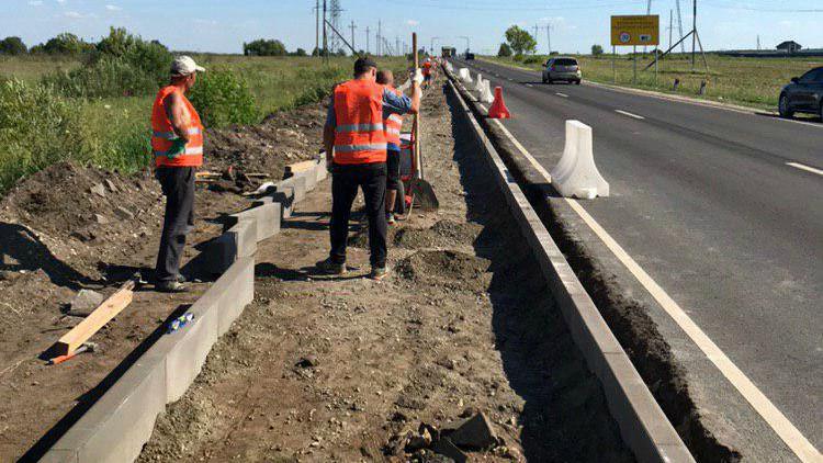 Порядка 250 км новых тротуаров вдоль региональных дорог построят в Подмосковье в 2020 году