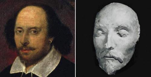 Посмертная маска Уильяма Шекспира была обнаружена в лавке старьевщика в Майнце в 1849 году, когда со смерти драматурга прошло уже 233 года. Многие скептики утверждают, что перед нами подделка, тогда как эксперты все же убеждены, что сходство с прижизненными портретами классика говорит о ее подлинности.