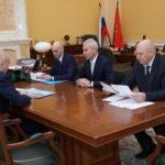 Рабочая встреча Олега Матыцина с губернатором Кемеровской области Сергеем Цивилевым