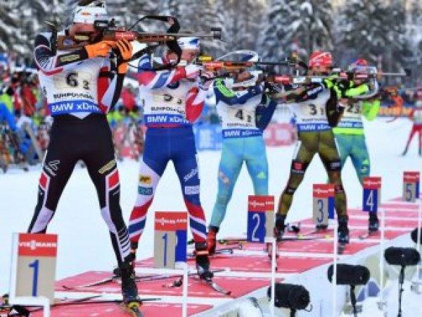 Россияне выступят в спринте в ЧМ по биатлону