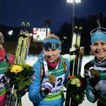 Россиянка Евгения Павлова – чемпионка Европы по биатлону в суперспринте