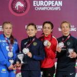 Россиянки выиграли пять наград на Чемпионате Европы по спортивной борьбе