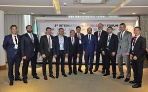 Российская делегация приняла участие в 3-ем Международном этноспортивном форуме «Возрождение традиционных видов спорта»