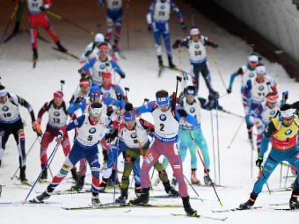 Российские биатлонисты выступят в масс-старте на ЧМ по биатлону