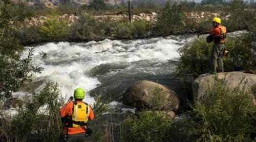 Река Керн Калифорнийская река привлекает множество любителей пощекотать себе нервы. Многие так и остаются на дне этого коварного водоема. В 2014 году группа из 9 мальчишек в сопровождении трех взрослых утонула здесь, в 2017 река забрала восьмерых
