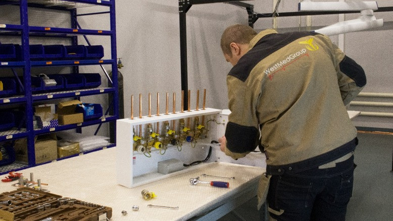 Серийное производство медицинских устройств Caduceus SU запускают в Подмосковье