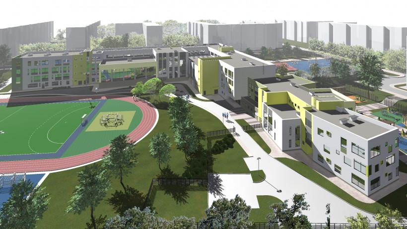 Школу с пристроенным детским садом возведут в Красногорске