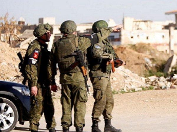 СМИ: погибшие в Сирии российские военные были снайперами ФСБ