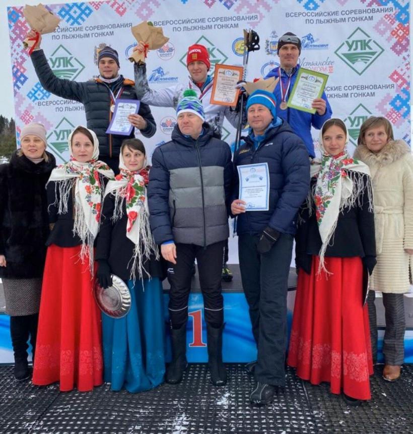 Спортсмен из Подмосковья завоевал серебряную награду на Кубке России по лыжным гонкам