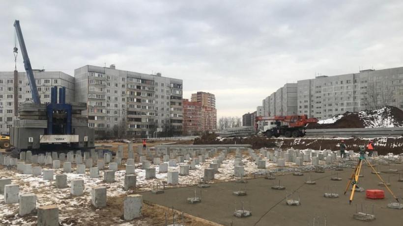 Строительство школы во Фрязине завершат к концу 2021 года