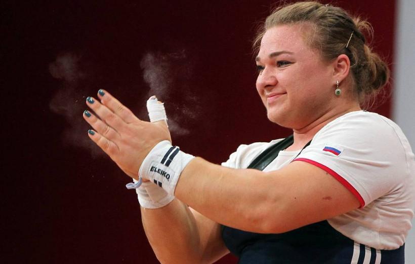 Татьяна Каширина завоевала золото на Чемпионате России по тяжёлой атлетике