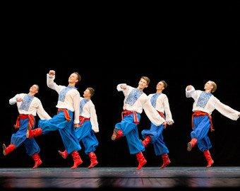 Телеведущая назвала украинский национальный ансамбль российским