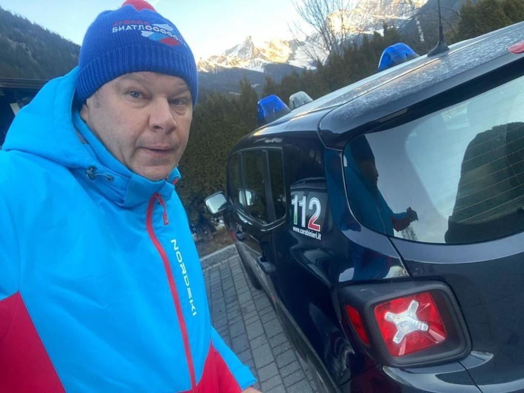У биатлонистов Логинова и Гараничева в Италии накануне эстафеты идут обыски: изъяты ноутбуки