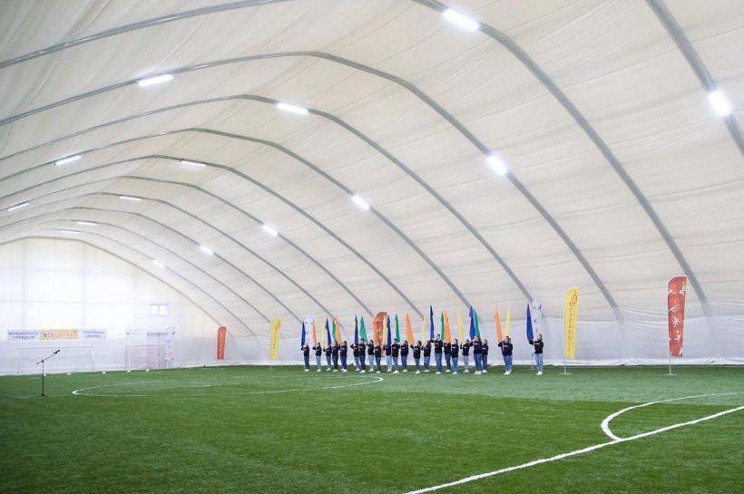 В Егорьевске открылся новый футбольный манеж