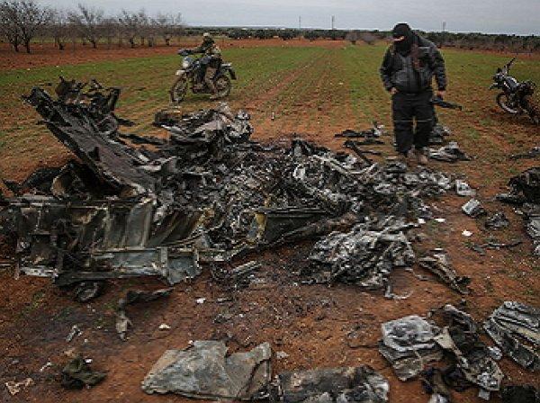 В Идлибе сбит сирийский вертолет: над телами погибших летчиков зверски надругались