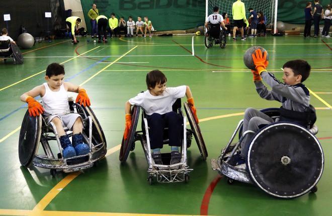 В Котельниках прошел фестиваль параспорта