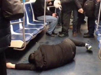 В Москве задержали пранкера, изобразившего в метро приступ коронавируса