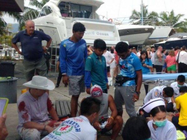 В Таиланде при столкновении двух катеров с туристами погибли два ребенка из России