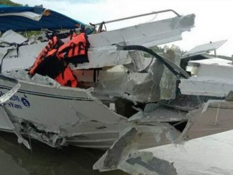 Видео столкновения катеров у Пхукета, где погибли россияне, попало в Сеть