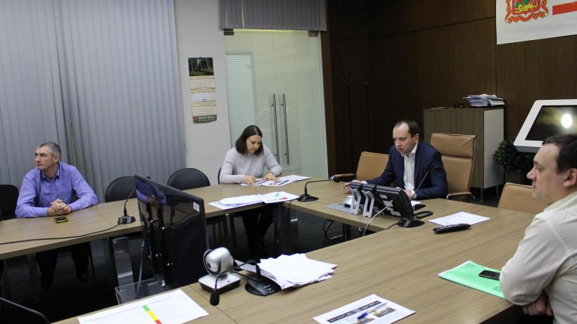 Заседание штаба по реализации нацпроекта «Жилье и городская среда» прошло в Минстрое региона