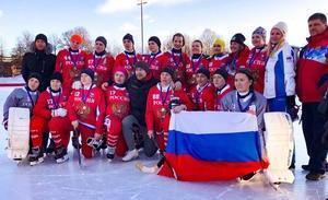 Женская сборная России – серебряный призёр Чемпионата мира по хоккею с мячом