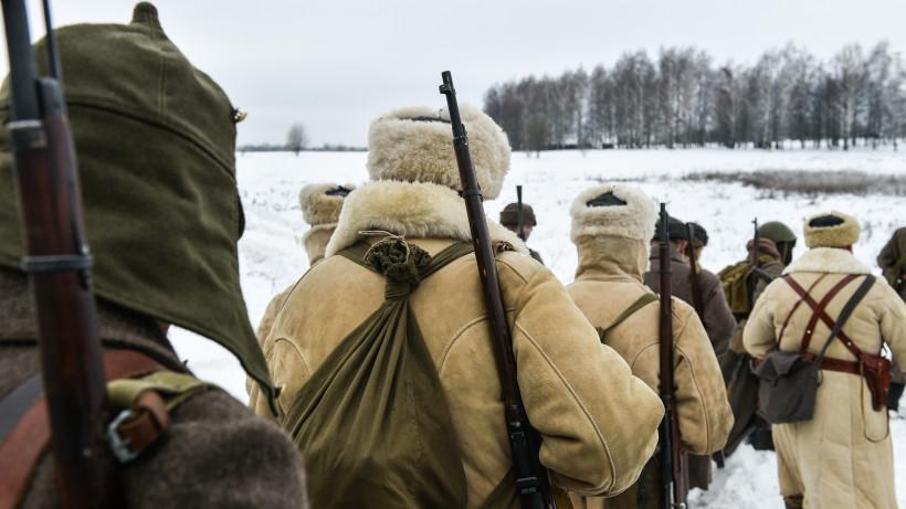 75-яя годовщина начала контрнаступления советских войск под Москвой