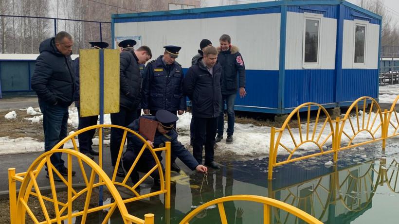 Баженов оценил работу по содержанию дворов в чистоте в Электрогорске
