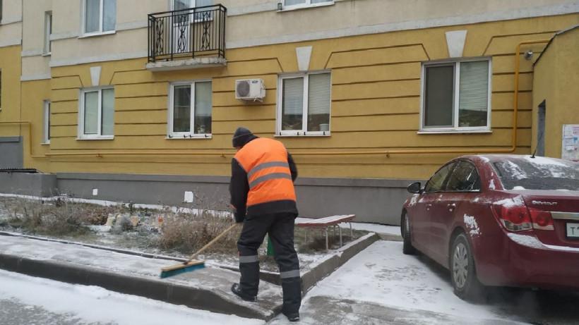 Более 13,5 тыс. дворников убирали снег в Московской области
