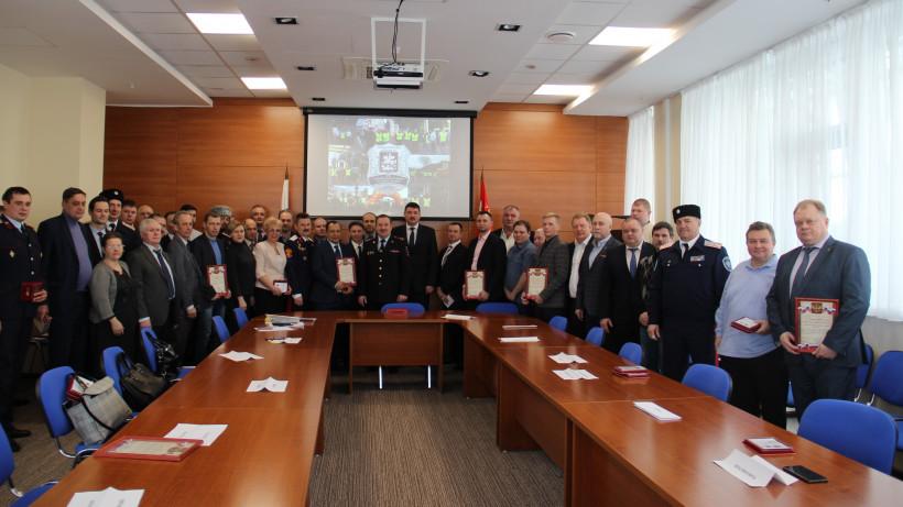 Добровольных народных дружинников Подмосковья наградили в честь праздника