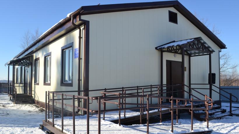Фельдшерско-акушерский пункт построят в городском округе Шаховская в 2020 году