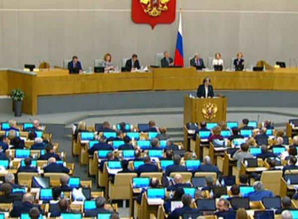 Госдума одобрила поправку о президентских сроках